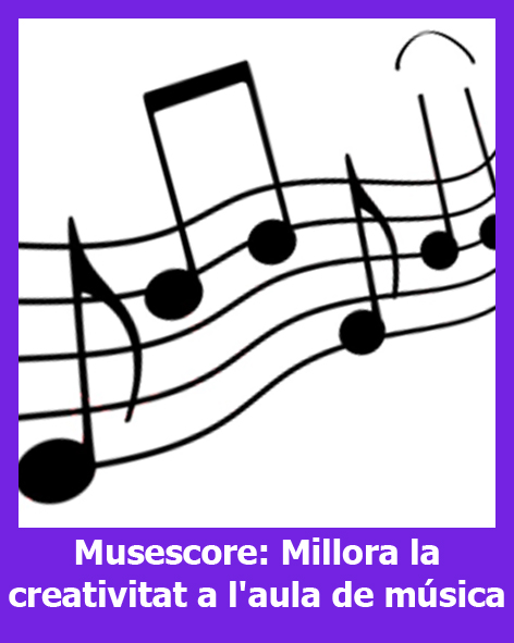 Musescore: Millora la creativitat a l'aula de música